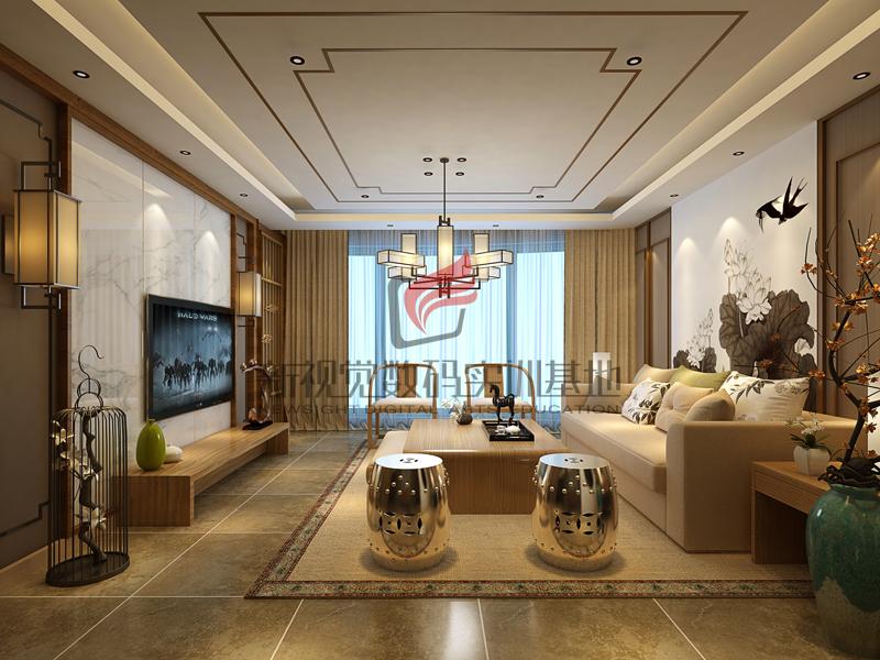 室内设计培训作品-李俊玲