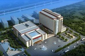 建筑表现培训作品-西藏昌都地区人民医院