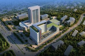 建筑表现培训作品-常州第三人民医院