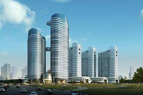 建筑表现培训作品-国际商务区
